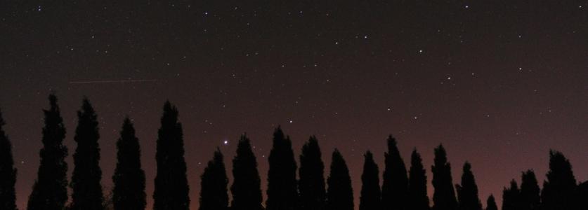 Geminidowa nocka. Było pięknie, ale bardzo zimno
