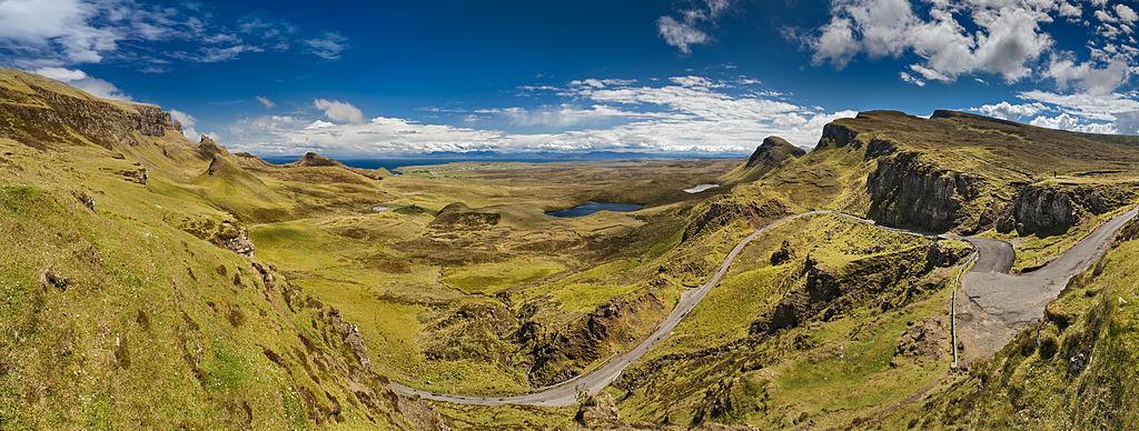 Ciekawe znalezisko na szkockiej wyspie Skye. Mogła powstać dzięki meteorytowi