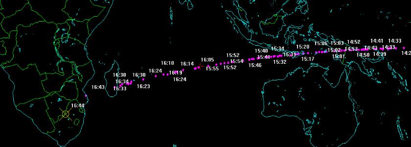 Obserwowana asteroida weszła w atmosferę nad Botswaną. Fragmenty już znalezione!