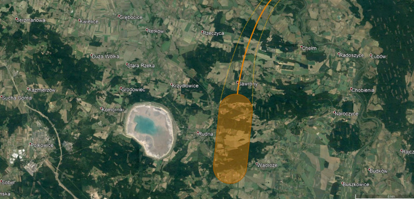 Bolid nad zachodnią Polską. Gdzie mogły spaść meteoryty?