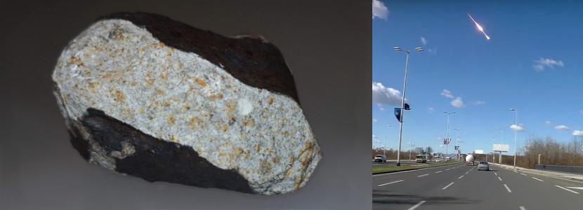 Spadek meteorytu nieopodal Novo Mesto w Słowenii