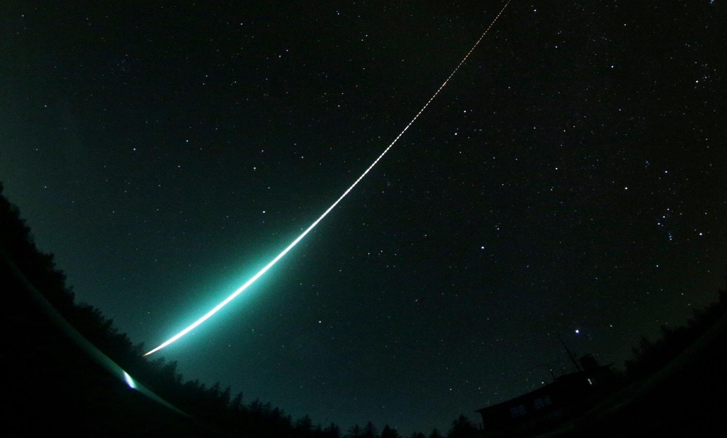 Niesamowity, wolny bolid nad Austrią. Meteoryty spadły w Alpach!