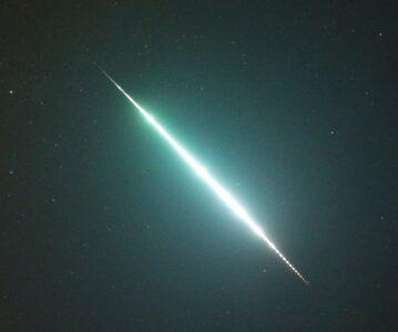 Bolid nad Górami Izerskimi. Możliwy spadek meteorytów